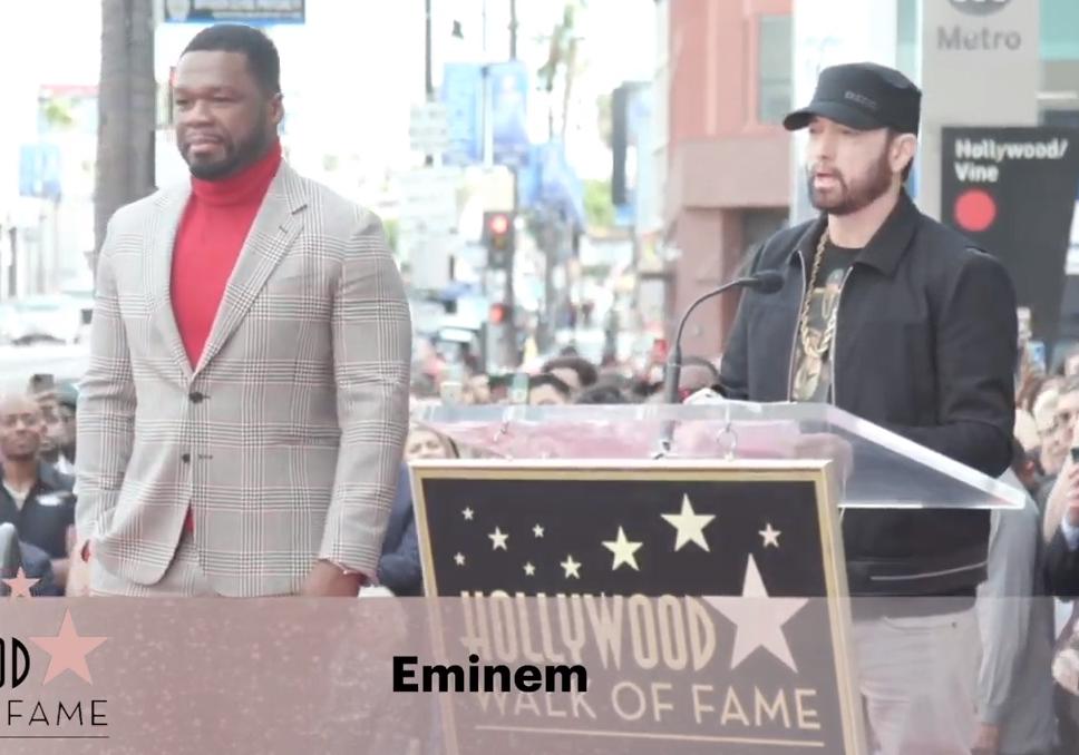 50 Cent a son étoile sur le Hollywood Walk Of Fame