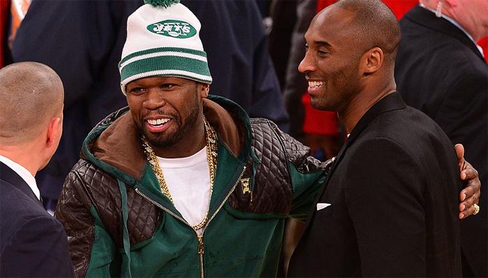 50 cent: l'importante décision qu'il prend après la mort de Kobe Bryant